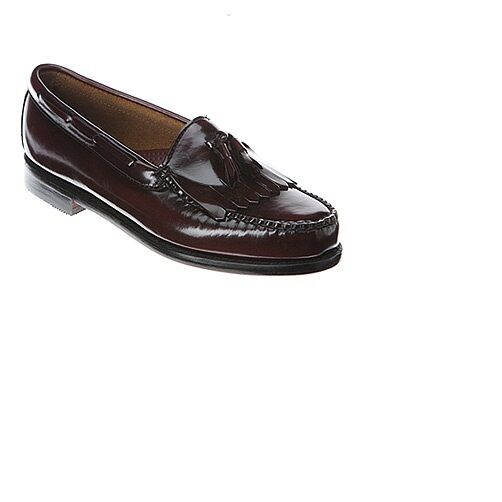 Bass Mens Layton Kiltie Tassel Leather Dress Dress Dress Casual Loafers Burgundy 9.5 (5E) 5d7ed8