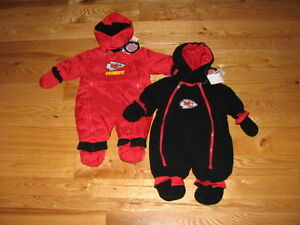 da083450 Details about New Kansas City Chiefs Baby Fleece Snowsuit Jacket Size 3/6M  3/6 Mo Boys Girls