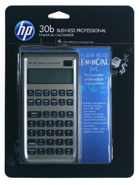 Brand New HP 30b Business Professional Financial Calculator *Battery included*