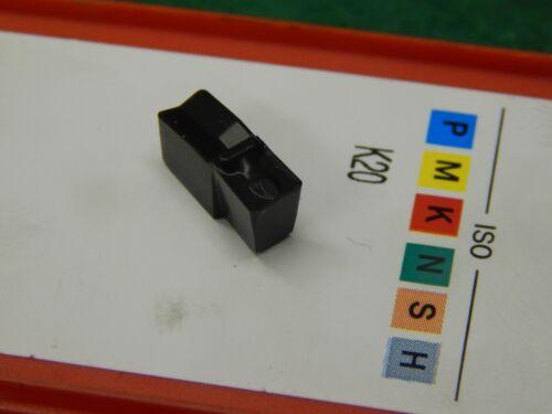 """5 Sandvik S151.2-4G01-368918 3020 Carbide Inserts .180/"""" Wide Grooving//Cut Off"""