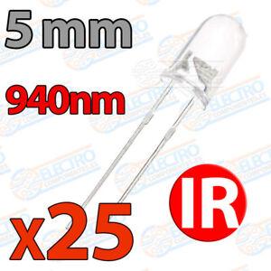 25x-Diodos-LED-5mm-IR-940nm-emisor-Infrarrojos-arduino-electronica-infrared