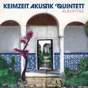 Keimzeit-Akustik-Quintett-Albertine-CD-Das-Original-Mit-Autogrammkarte