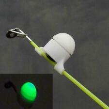 2 Pcs Fishing LED Rod Tip Night Light Strike Alert Glow Stick Bite Alarm N#S7