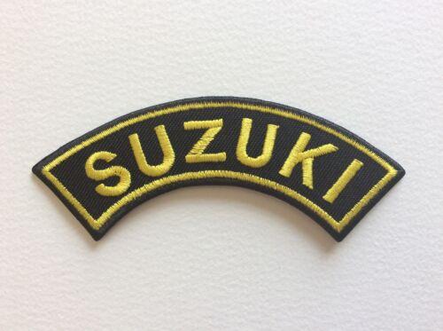 A276 PATCH ECUSSON SUZUKI ARRONDI 9,7*2,5 CM