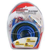 Amp Wiring Kit 8ga. Xxx Platinum Isk1700p