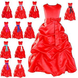 Vestidos fiesta nina rojo