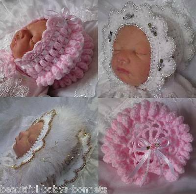 CROCHET PATTERN by Beautiful-Babys-Bonnets to make a Girls Vintage Style Hat #24