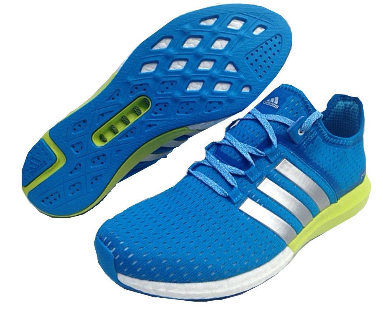 Adidas Herren ClimaCool Gazellen Verstärkung Original Trainer s77241 blau UK