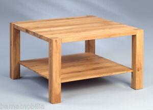 Couchtisch Wildeiche Massiv Holztisch Massivholz Holz Tisch Eiche