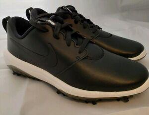 Nike Roshe G Tour Men S Golf Shoes Ar5580 001 Black Summit White Size 8 Nib Ebay