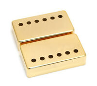 (2) Chrome Covers For Vintage Gibson® Paf Humbucker Pickups Pc-0300-002