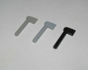 Lego 3835-4x Haches de pompier Noir Black Minifig utensil Axe NEW NEUF