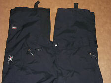 SPYDER SKI SNOW PANTS ENTRANT GII INSLUATED ADJUST WAIST BLACK WOMEN'S 6