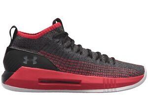 UA Heat Seeker Basketball Shoes Black