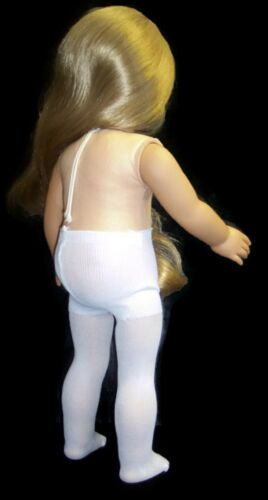 """White Tights made for 18/"""" American Girl Doll Clothes Accessories"""