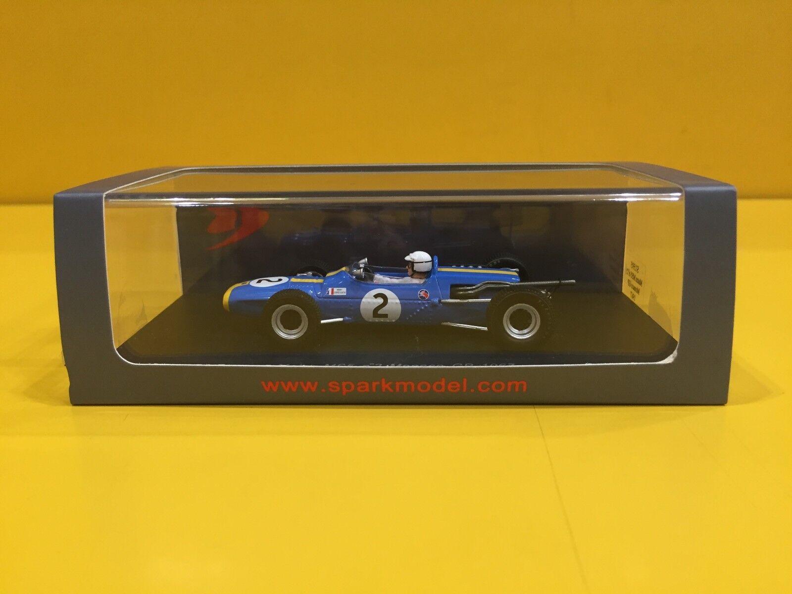 Spark S1595 - Matra MS5 - GP Monaco 1967 Johnny Servoz-Gavin