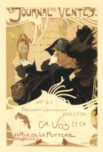 Vintage French Art Nouveau Shabby Chic Prints /& Posters 069 A1,A2,A3,A4 Sizes