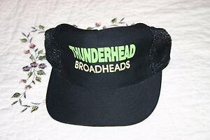 THUNDERHEAD-BROADHEADS-ADJUSTABLE-SNAPBACK-CAP-TRUCKER-HAT