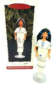 Hallmark-Ornament-Native-American-Barbie-Doll-of-The-World-Collector-Series-1996