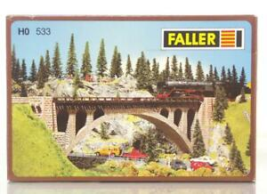 FALLER-B-533-OO-HO-KIT-STONE-ARCH-BRIDGE-355-x-44-x-120-mm