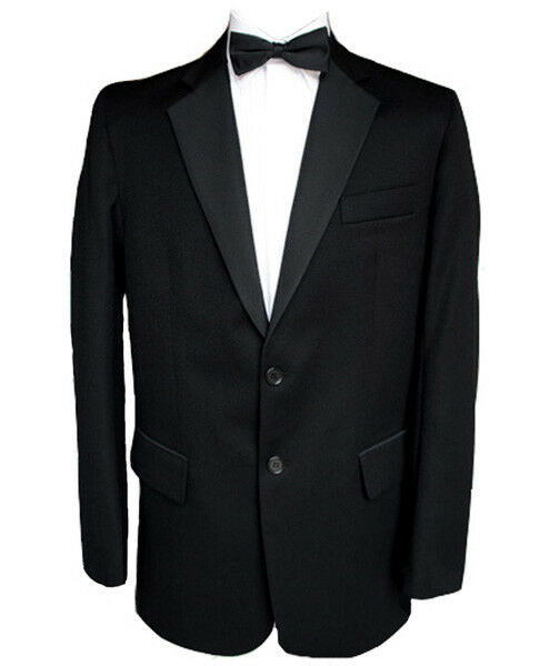 Finest barathea d ner boutonnage à boutonnage ner simple laine veste 40