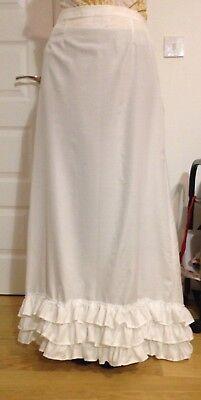 Petticoat underskirt,new early 1900s Handmade Edwardian style