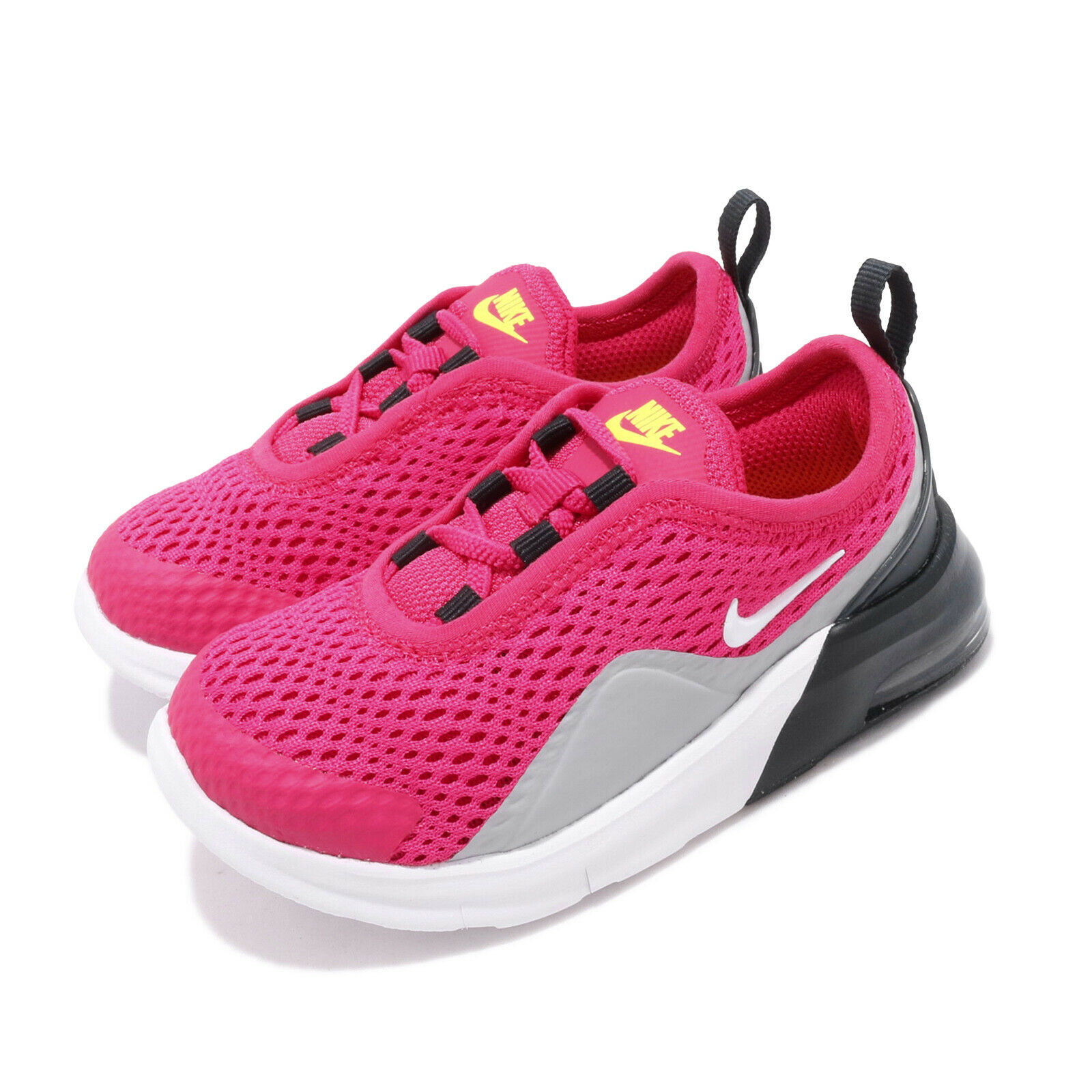 Nike Air Max  Motion 2 TDE Rush Pink White Grey Toddler Infant shoes AQ2744-600  low prices
