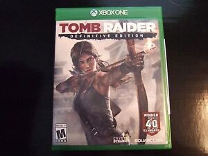 Replacement Case No Video Game Tomb Raider Definitive Edition