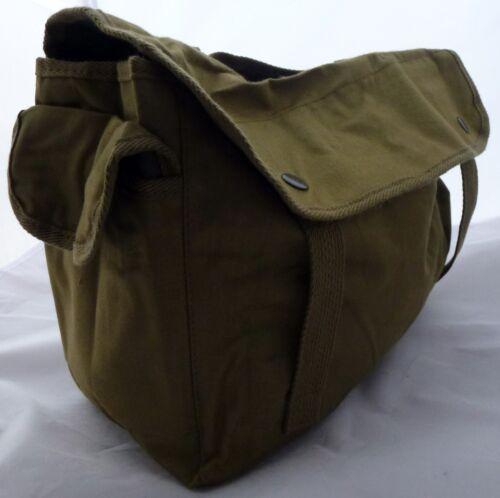 NUOVO alla moda borsa a tracolla verde oliva stravaganti zeppa forma estremamente cool borsa UOMO