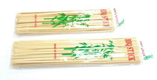 Wooden Bamboo Skewers Pick Sticks Grill BBQ/'s Fruits Shish Kebab Cocktail Party