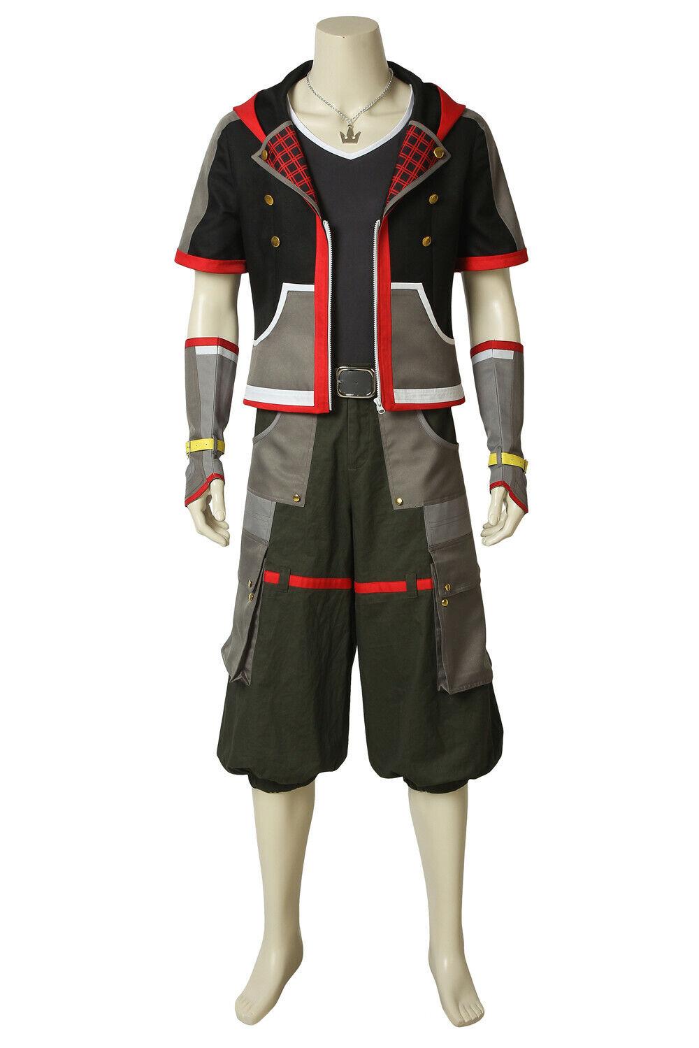 Sora Wisdom Form Kingdom Hearts 2 cosplay costume Custom Made Halloween:ry7