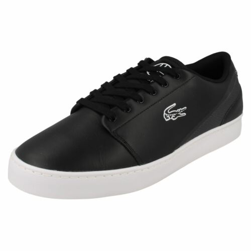 Legacy Black Up Court Casual yellow Lace Grey 'lacoste' Trainers black Mens dark YwFSfUqq