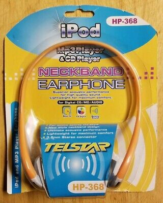 Telstar Neckband Headphones Hp-368 For Digital Cd/mp3/ipod New & On Sale Cool In Summer And Warm In Winter Music