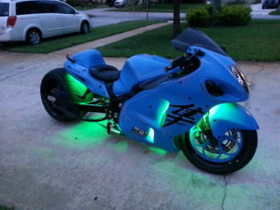 18 Color Change Led Viper 12pc Motorcycle Led Neon Strip Light Kit