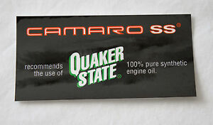 OEM-GM-SLP-1996-1997-Camaro-SS-Quaker-State-Underhood-Oil-Decals