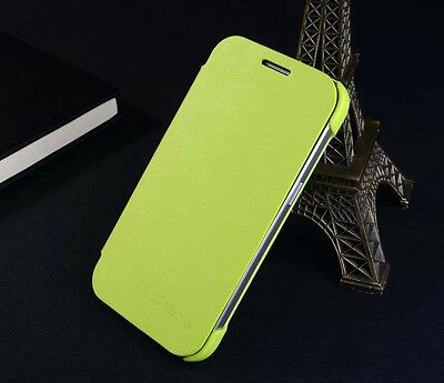 Protective Flip Luxury PU Leather Cover Folio JDPT Case For Samsung Galaxy