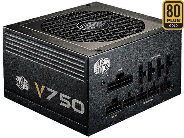 Cooler Master V750 - 750W Compact Fully Modular 80 PLUS Gold Power Supply