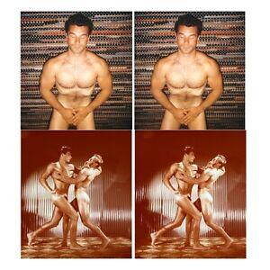 18-farbige-Akt-Stereofotos-kraftvolle-Bodybuilding-nackte-Maenner-Gay