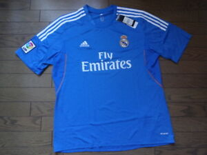 Image is loading Real-Madrid-100-Official-Original-Jersey-Shirt-2013- ba6c09049