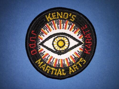Vintage  1970/'s Keno/'s Karate Judo MMA Martial Arts Gi Uniform Patch Crest 633