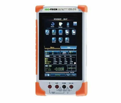 IDS-210 ISO-TECH Handheld Oscilloscope de stockage digitale 2 canaux 100 MHz