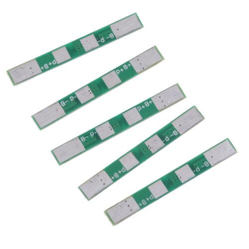 5 stücke 1 s 3,7 v 3A pcb schutzplatine für 18650 li ion lithium