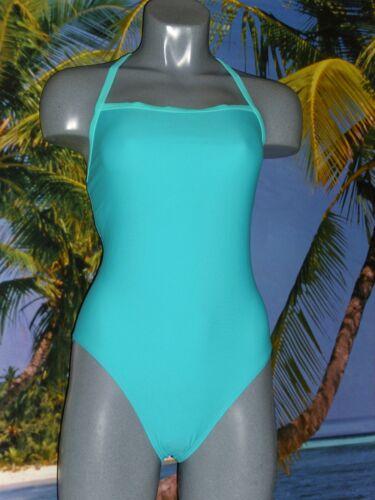 Nero Bianco Turchese Donna Costume da bagno galleggiante-SCHIENA NUOTATORE Costume da bagno
