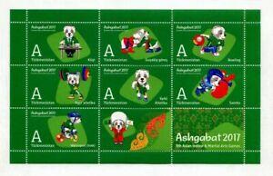 Sellos-de-Turkmenistan-034-V-Juegos-asiaticos-de-artes-marciales-y-en-interiores-034
