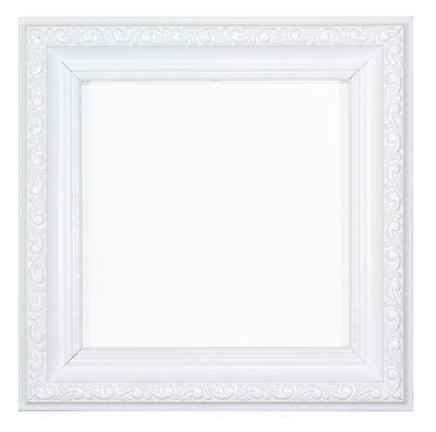 Ornate Shabby Chic Picture Photo Frame Poster Instagram Square White Ebay