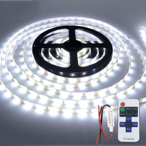 Wireless Waterproof LED Strip Light 16ft For Boat Car// Suv Truck Rv White