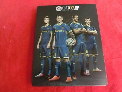 Temperate Fifa17 neu leer, Ohne Spiel Fifa 17 Steelbook Steel Box