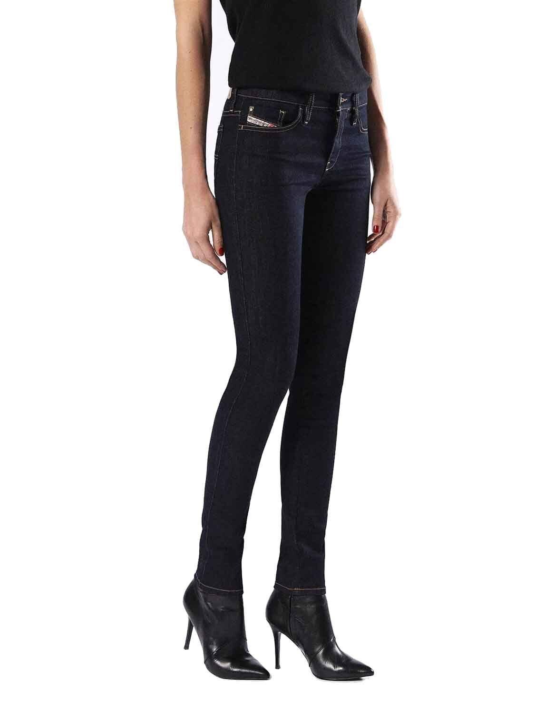 Diesel Skinzee 0813C women Pantalones Vaqueros Ajustados Super Slim