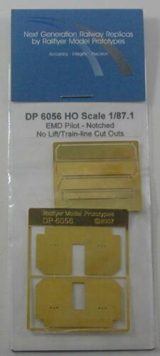 EMD//GMD Locomotive Pilot Notched No Lift TLCO  RAILFLYER MODEL PROTOTYPES 6056