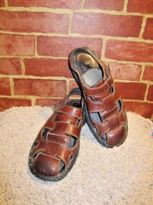 NUNN BUSH Blue Italian Leather Sandals US Size 7.5 M 7-12 M